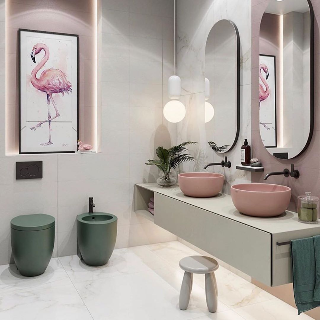 28 Best Stairway Decorating Ideas And Designs For 2020: 999 Best Bathroom Design Ideas #homedecor #bathroom