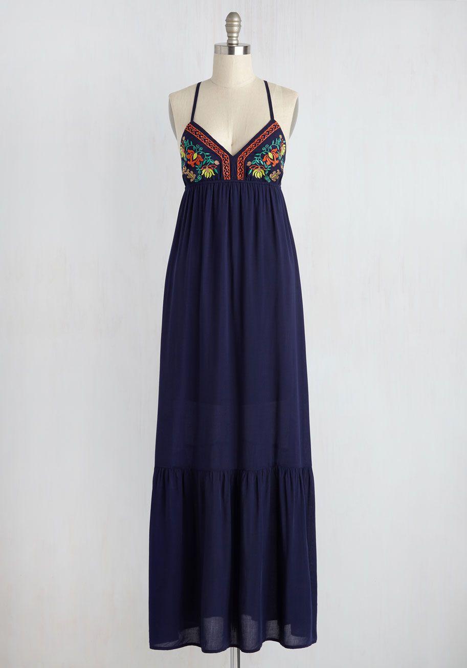 Serene surroundings lace bralette tapas blue maxi dresses and
