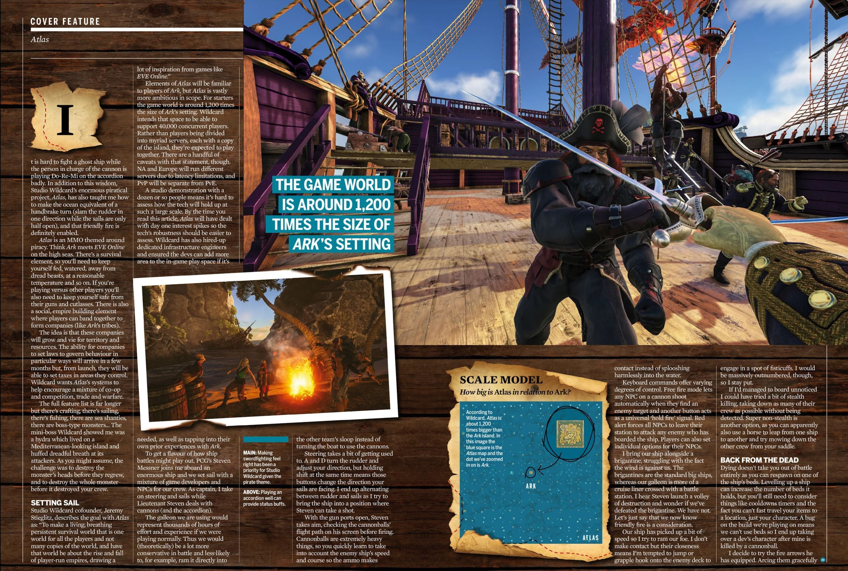 More Info About Upcoming Mmorpg Atlas From The Pc Gamer Uk Mmo