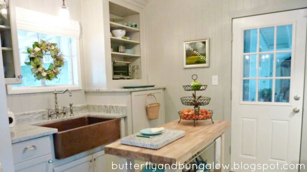 Gorgeous kitchen renovation on a budget from butterfly ...