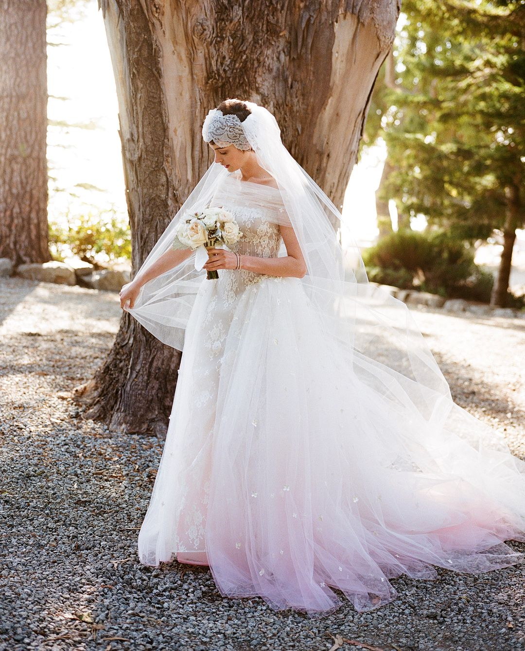 The Most Iconic Pink Wedding Dresses in Hollywood