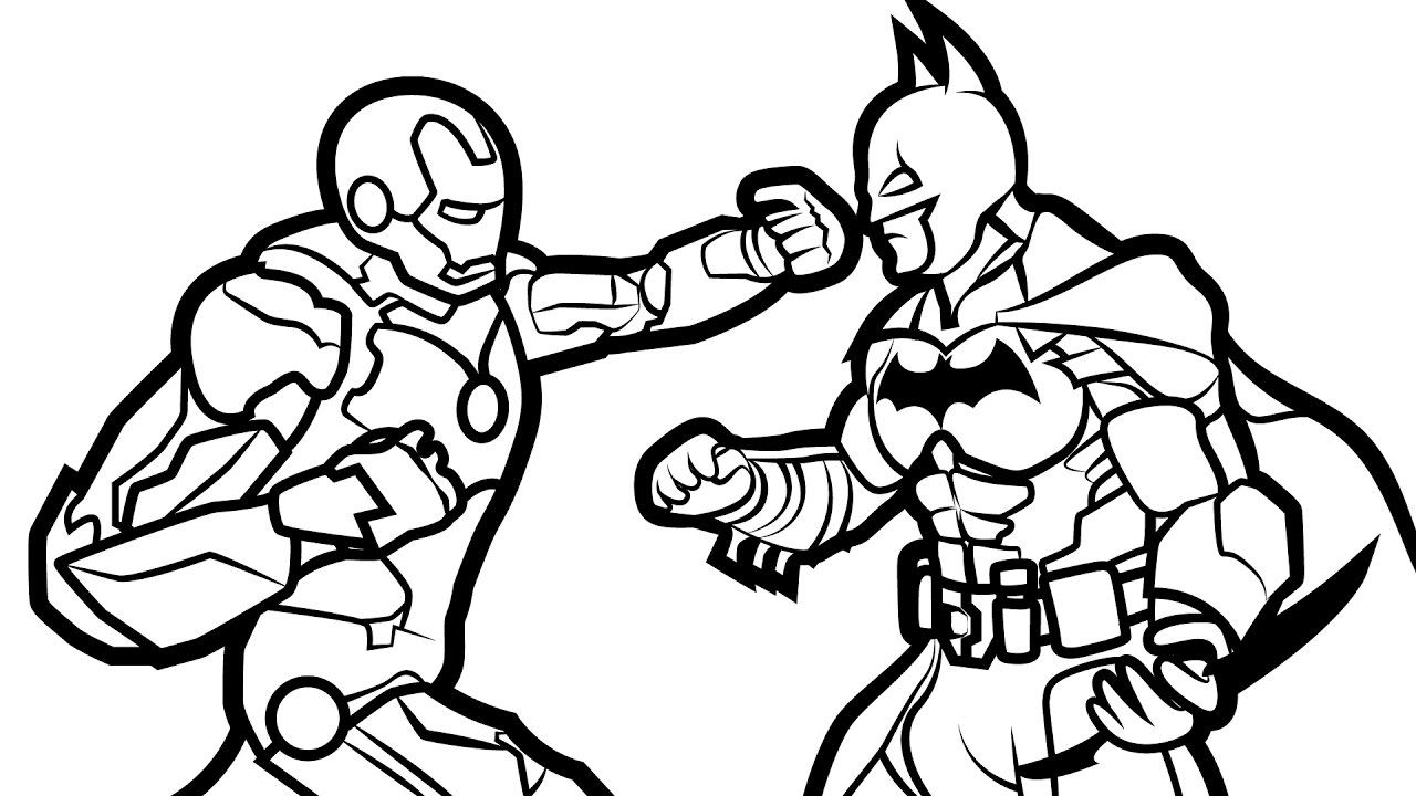 Coloring Pages for Boys  Batman coloring pages, Coloring pages