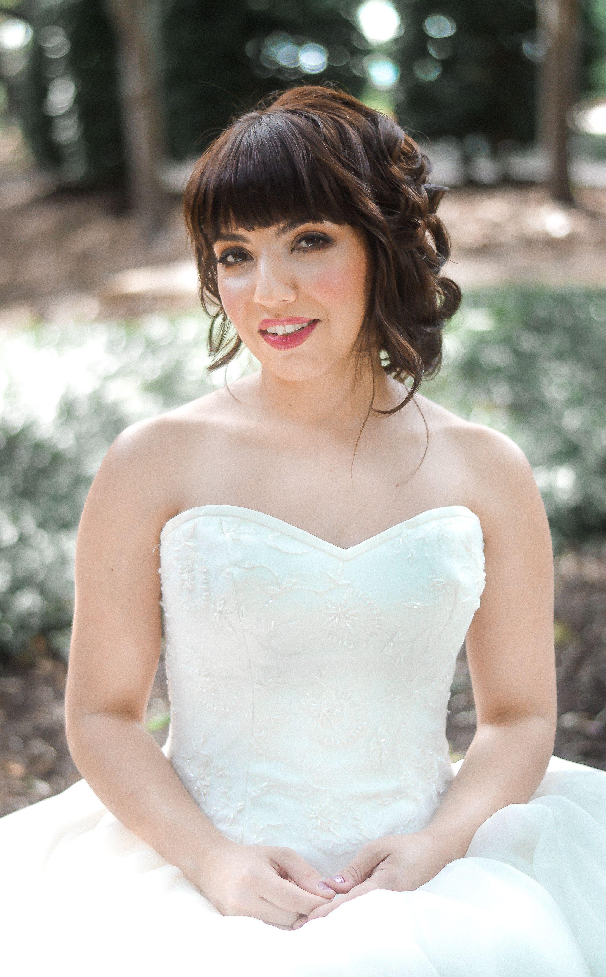 Natural bridal makeup, natural bridal hair Natural