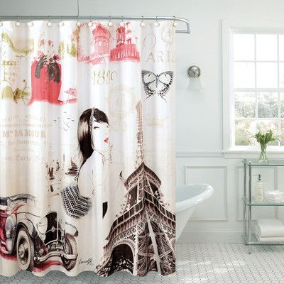Daniels Bath Fancy Madelynn Shower Curtain