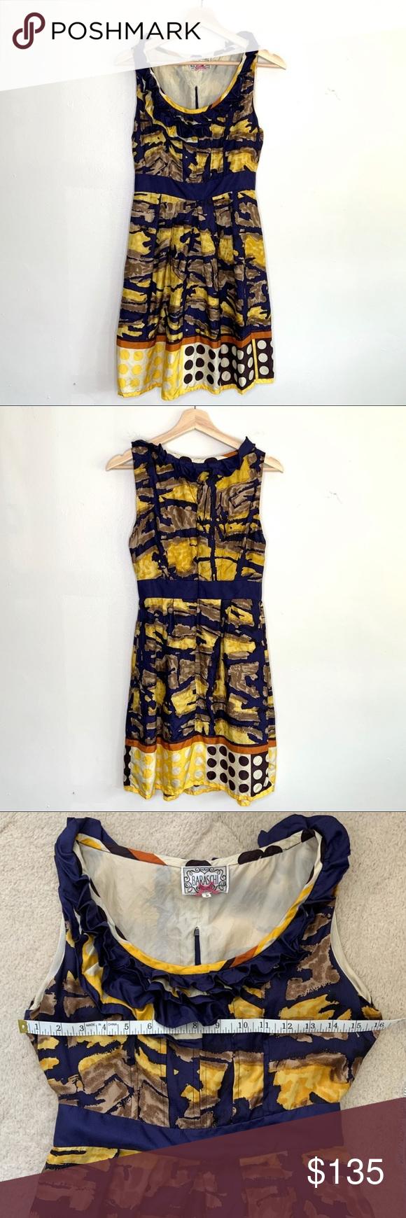 Yoana Baraschi Isla Dorada Blue And Yellow Dress Blue And Yellow Dress Yellow Dress Anthropologie Dress [ 1740 x 580 Pixel ]