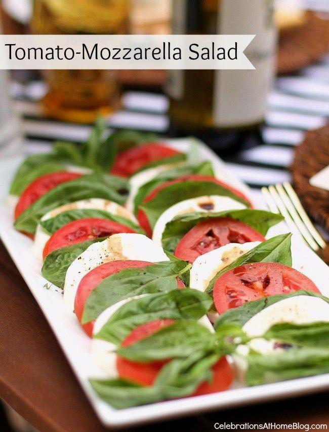 Al Fresco Dinner Party Menu With Recipes Salads Birthday