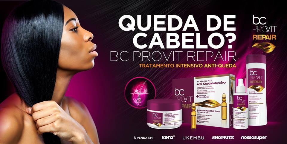 BC Provit Repair nutre e repara cabelos com queda e fragilizados, devolvendo-lhes força, elasticidade e brilho naturais.  Eficácia comprovada | Solução em 30 dias