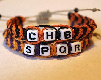 Camp Half-Blood/Camp Jupiter Hemp Friendship Bracelet - or