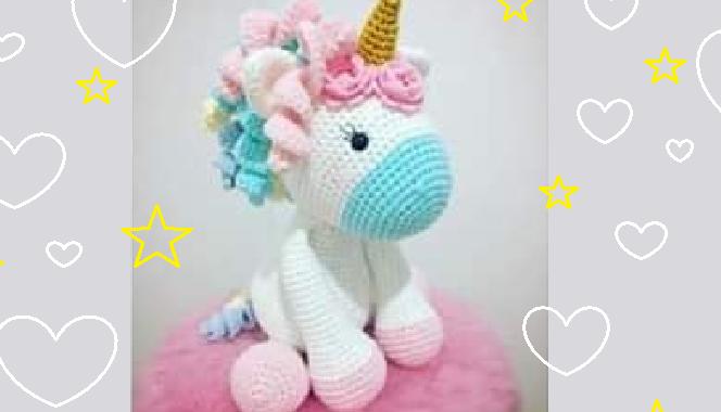 Unicorn Keychain Amigurumi,On Request, amigurumi unicorn keyring ... | 380x664