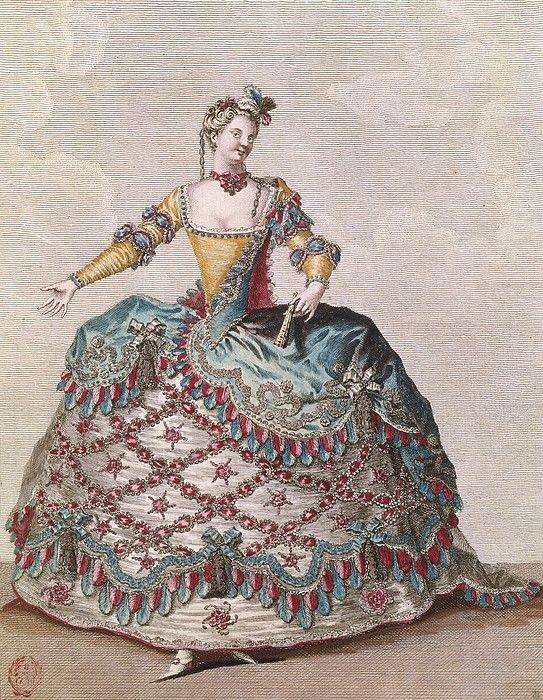 French opera costume, baroque. | Visual communication | Pinterest ...