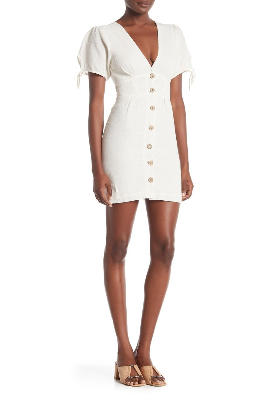 4si3nna Alexis Button Front Dress Nordstrom Rack Womens Sheath Dress Button Front Dress Nordstrom Dresses [ 1300 x 868 Pixel ]