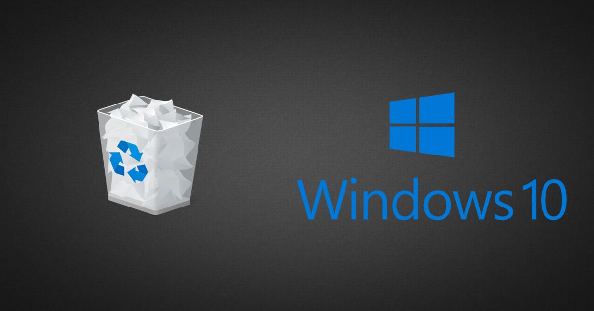 Where Is The Recycle Bin On Windows 10 Recycling Bins Windows 10 Settings App
