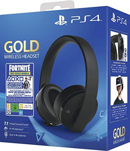 Gold Wireless Headset Fortniteneo Versa Bundle Ps4 Wireless Headset Headset