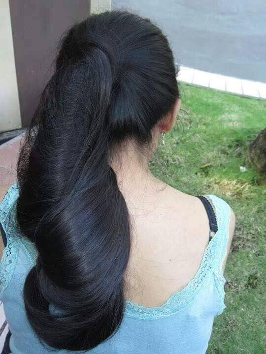 Pin By Uddhav Kamble On Long Hair Bun Hairstyles For Long Hair