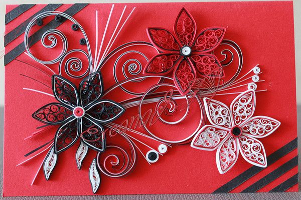 patron quilling quilling. Black Bedroom Furniture Sets. Home Design Ideas