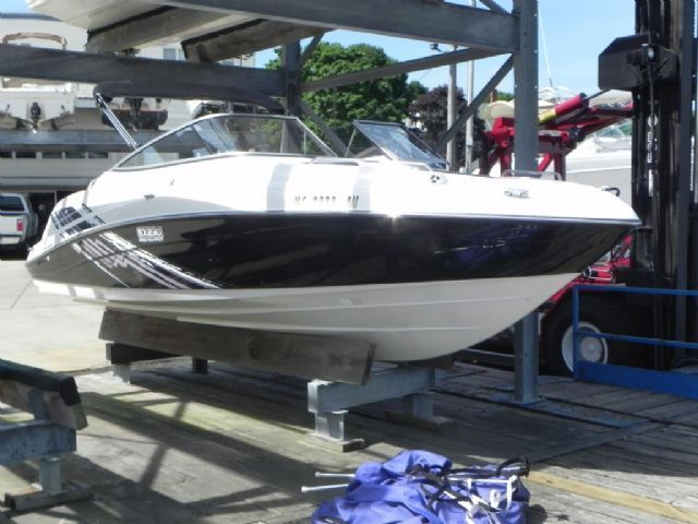 23 Feet 2008 Yamaha SX230 HO Jet Boat Black Over White 75 Hours For Sale In Beverly MA