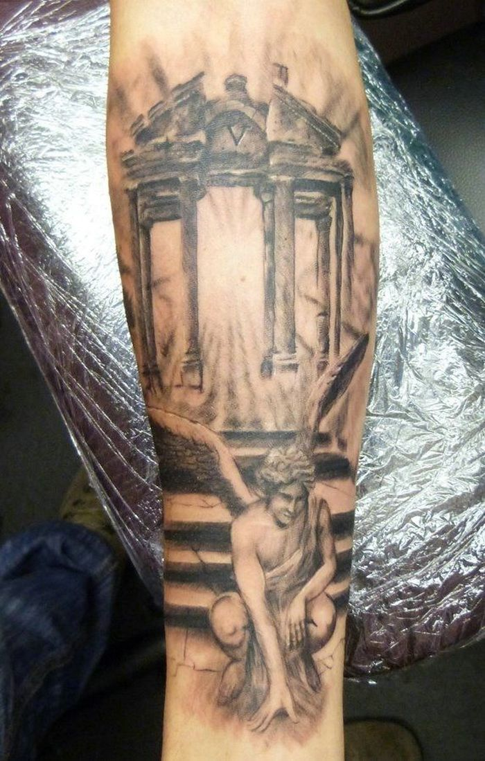 good angle tattoo designs for men arm sleeve tattoos pinterest angle tattoo tattoo. Black Bedroom Furniture Sets. Home Design Ideas