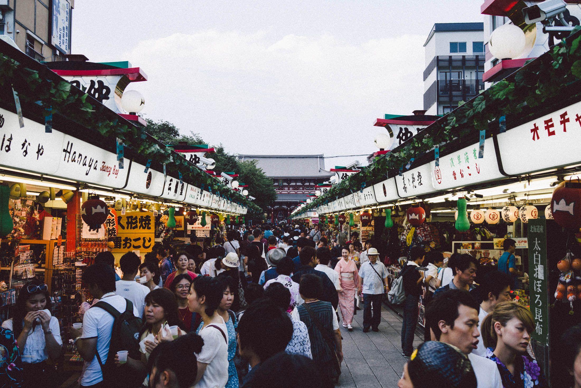 Matsuri in Asakusa - Day 6