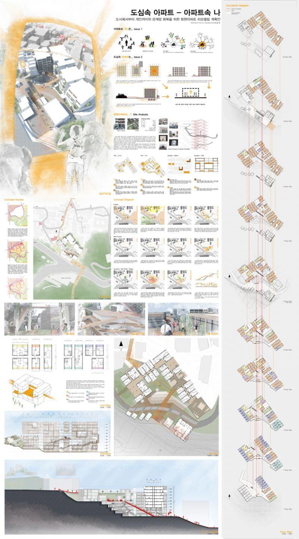 명지대학교 건축대학  판넬  Pinterest  건축, 건축 프리젠테이션 ...