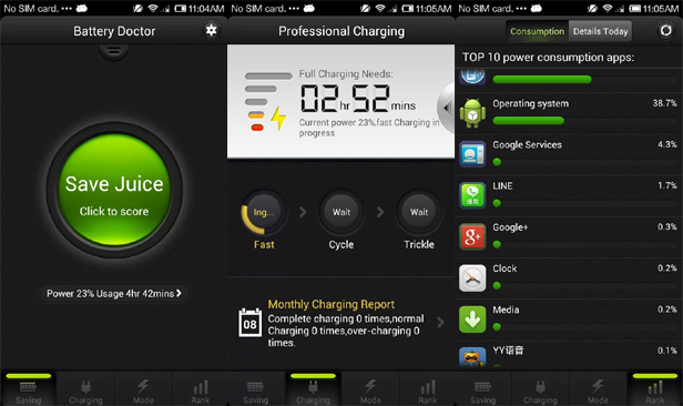 Download Free Android Games & Apps : Battery Doctor (Battery Saver