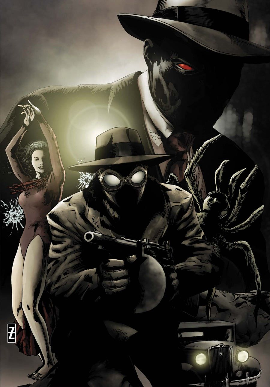 spiderman #noir #fan #art. (spider-man noir: eyes without a face