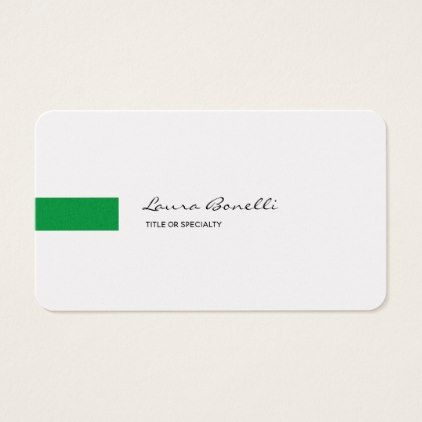Luxury linen black white green professional modern business card luxury linen black white green professional modern business card stylist business cards cyo personalize businesscard reheart Images