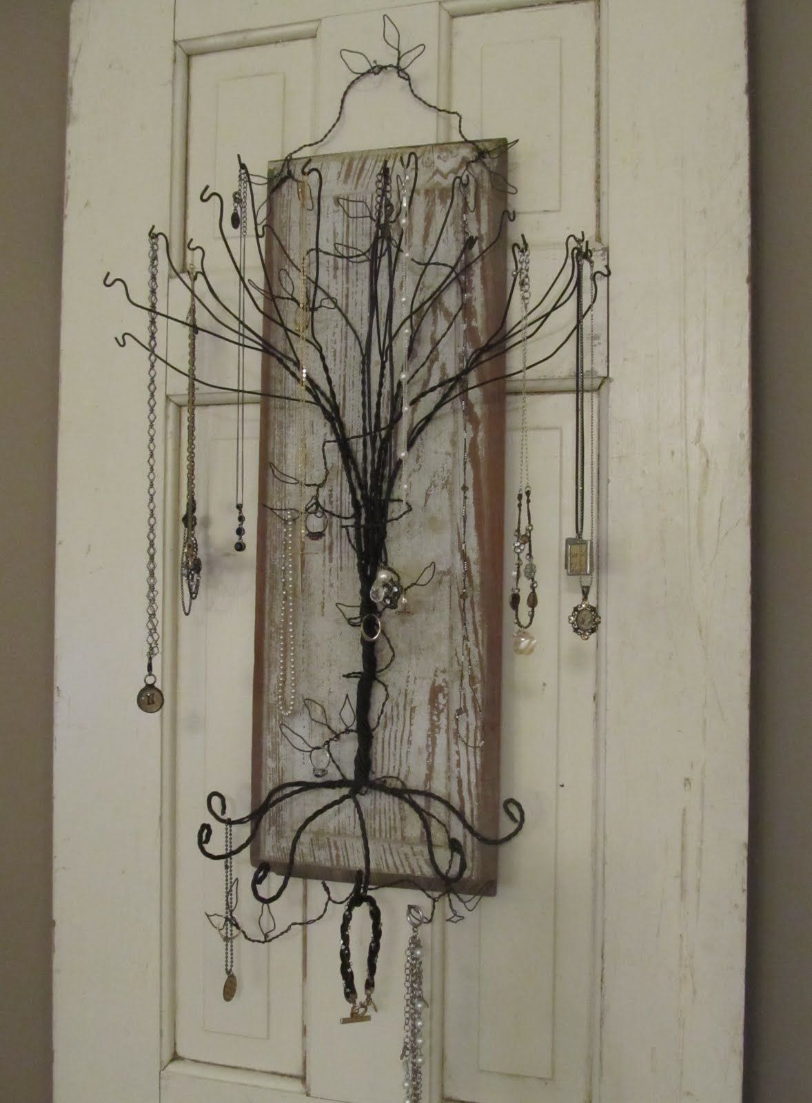 Coat Hanger Jewelry Tree Hint hint i want i want I know where I