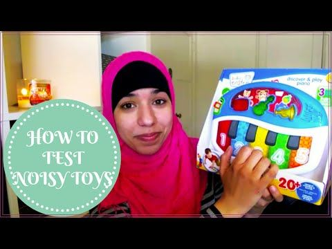 Baby, Toddler Educational toys and how to test them for safety concerns. FREE app Amna Fares - Speech-Language Pathologist www.amnafares.com