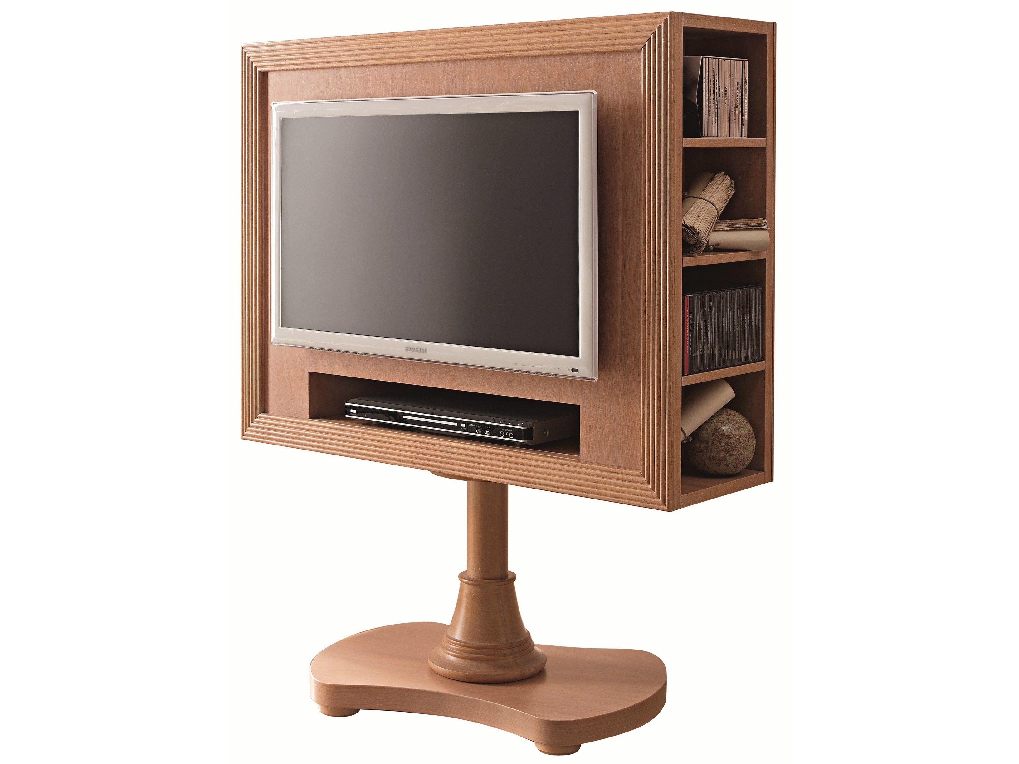 Mobile TV girevole in legno 663 | Mobile TV girevole ...
