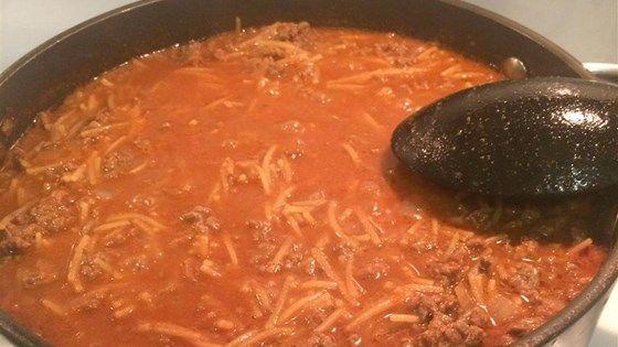 Quick Fideo Recipe In 2020 Fideo Recipe Mexican Food Recipes Authentic Mexican Food Recipes