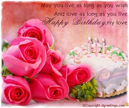 Dgreetings Wish your Beloved Happy Birthday with this Sweet Card – Live Happy Birthday Cards