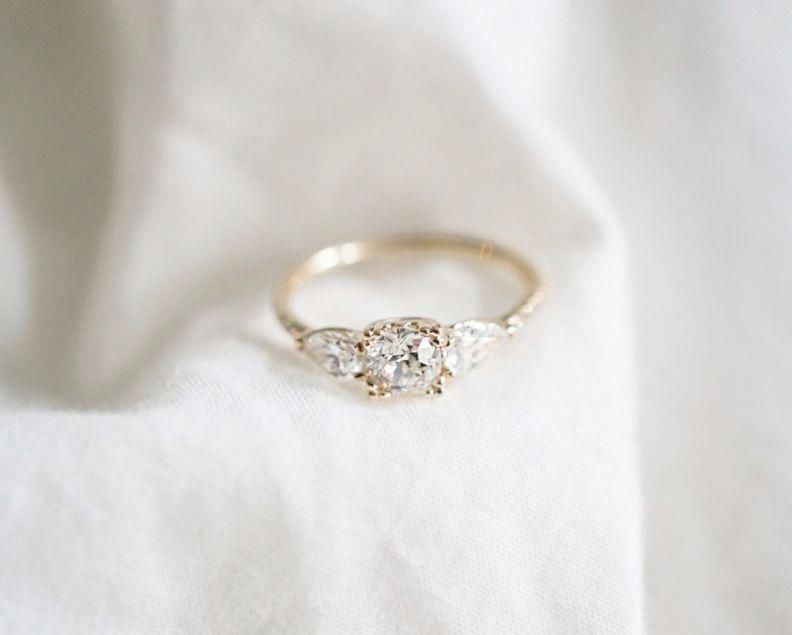 What To Do With Old Engagement Ring After Upgrade Wearing A Used Engage Bespoke Diamond Engagement Ring Vintage Engagement Rings Simple Bespoke Engagement Ring
