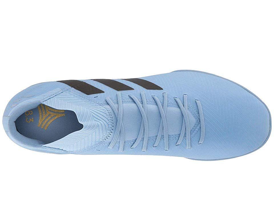 0f105a26c adidas Nemeziz Messi Tango 18.3 TF Men's Soccer Shoes Ash Blue/Black/Raw  Grey