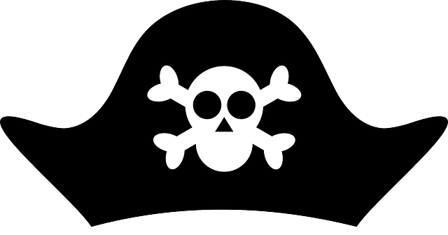 Pin By Becky Hayman On Clipart Pirate Hat Template Pirate Hats Pirate Hat Drawing