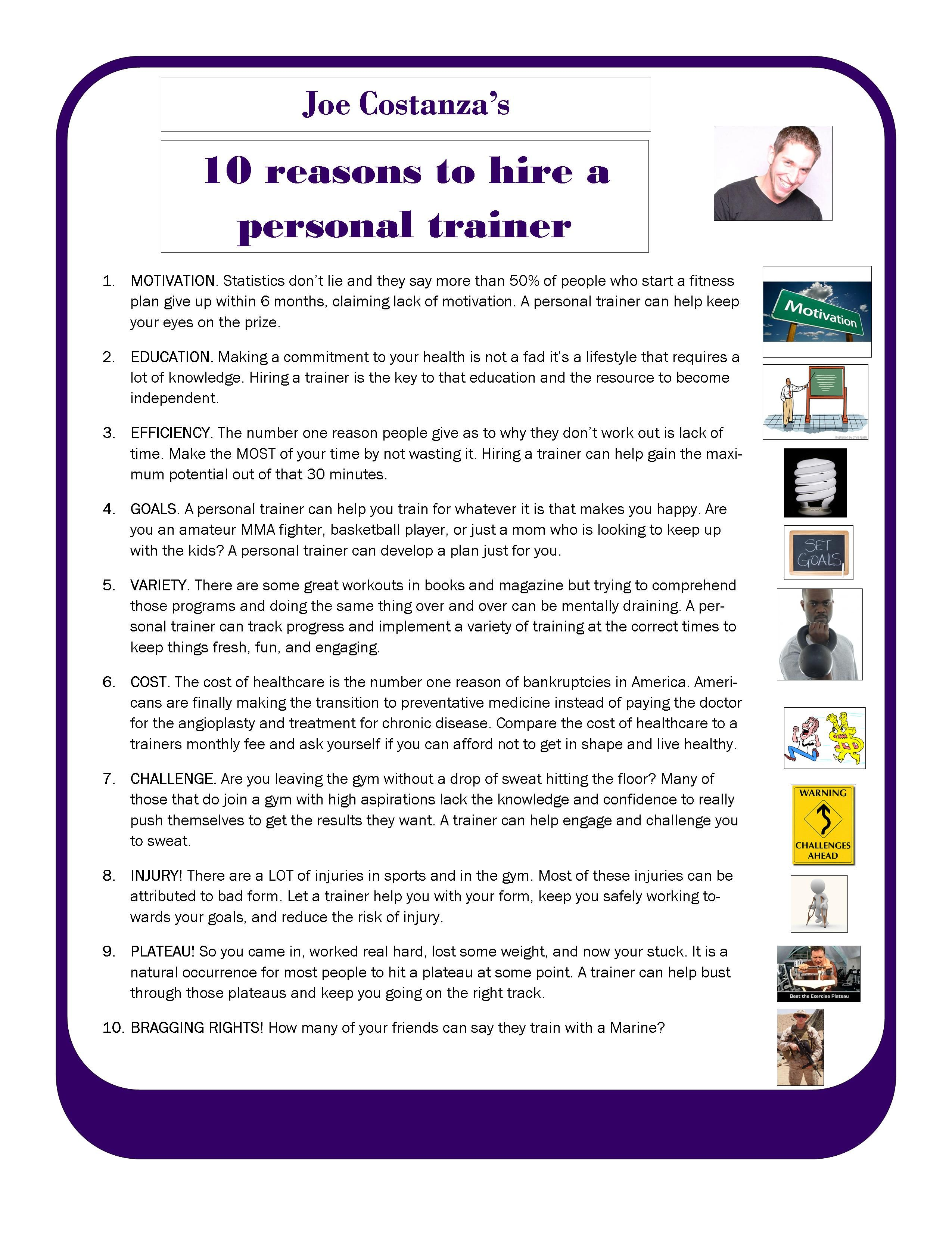 plyo box template - joe 39 s 10 reasons to get a trainer health fitness pinterest