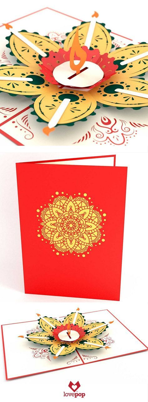 Diwali Pop Up Greeting Cards Diwali Cards Cards