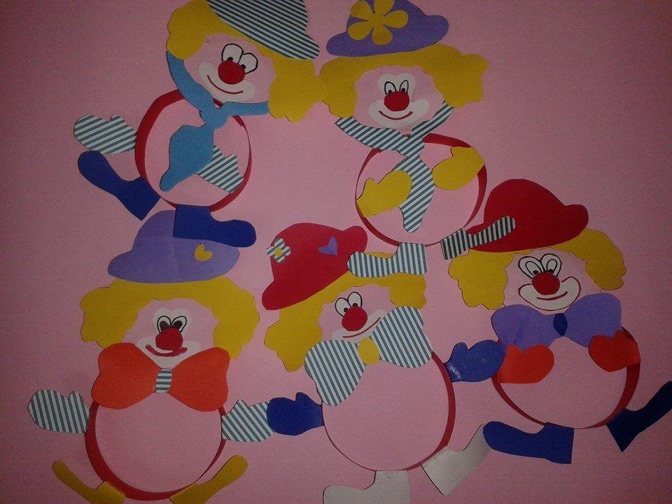 pagliacci addobbi di carnevale craft carnevale bambini