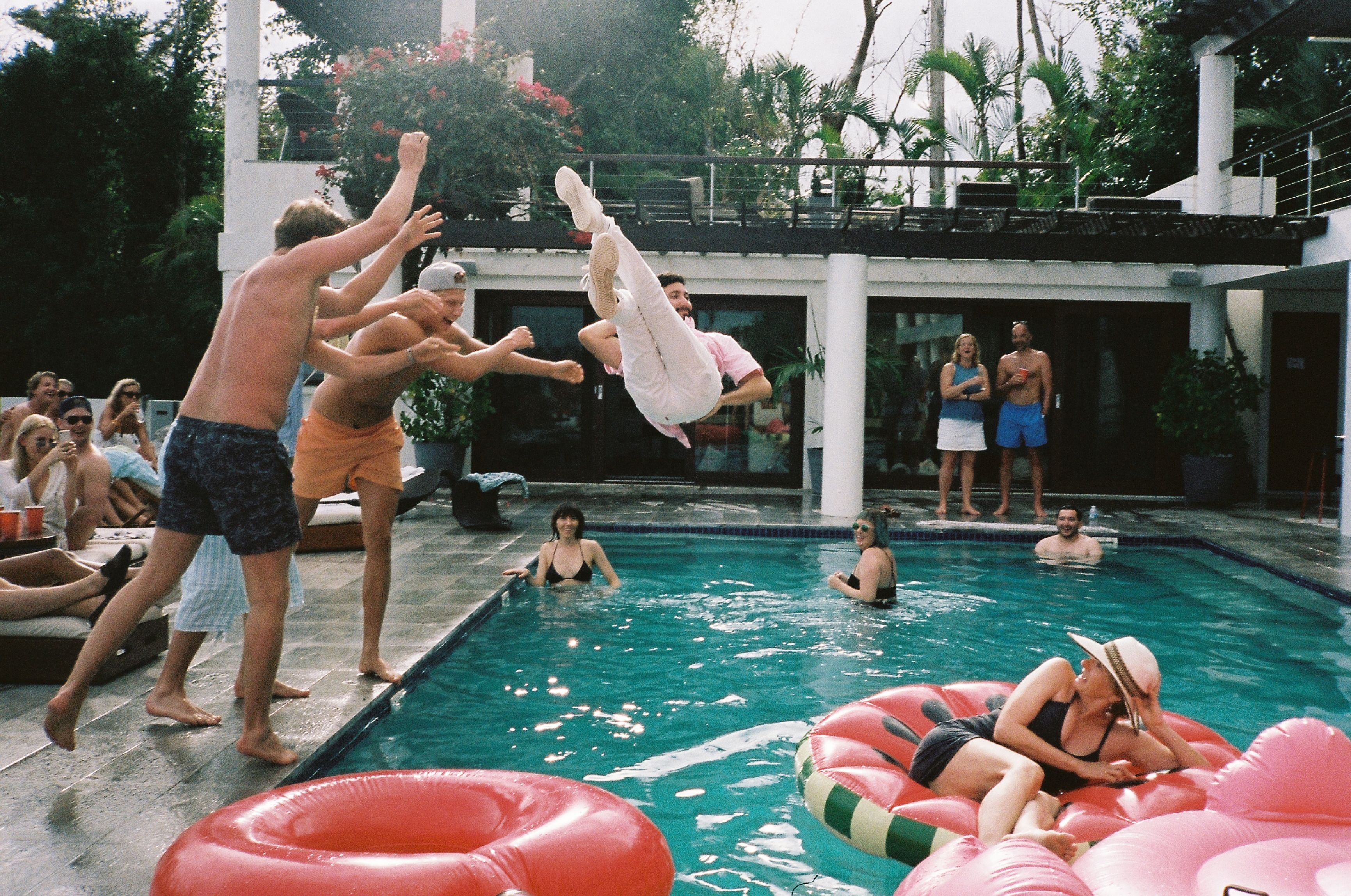 Pool Party in Vieques Outdoor, Outdoor decor, Dream wedding