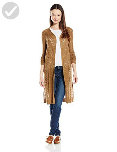 Angie Women's Long Sleeve Cardigan, Camel, Small - All about women (*Amazon Partner-Link)