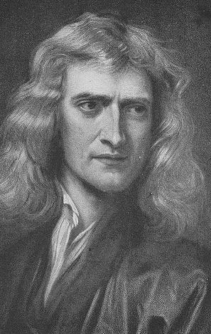 Issac Newton.