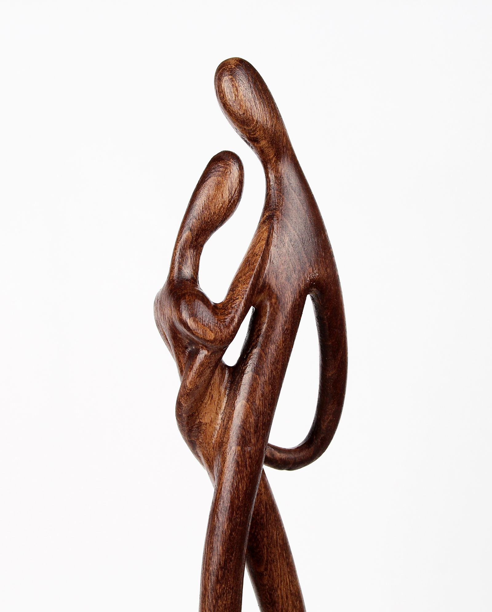CLEARANCE SALE Romantic Couple Anniversary Gift Bronze Sculpture Statue Art Deco