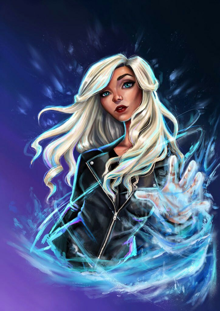 Caitlin Snow/Killer Frost by RussiaNet on DeviantArt