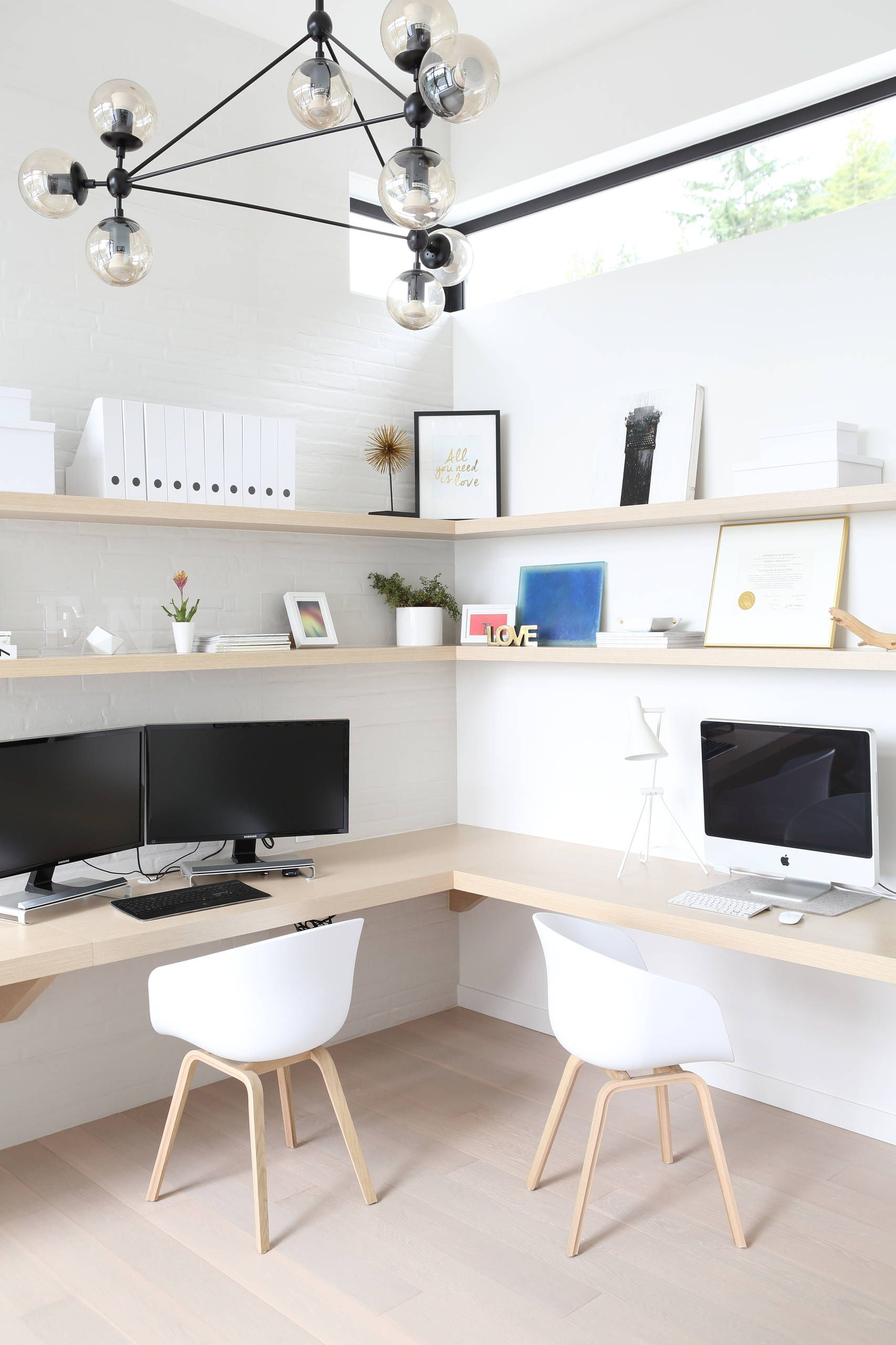 51 Functional Home Office Designs | Office designs, Decoration and ...