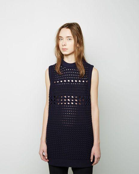 Proenza Schouler | Sleeveless Knit Tunic | La Garçonne