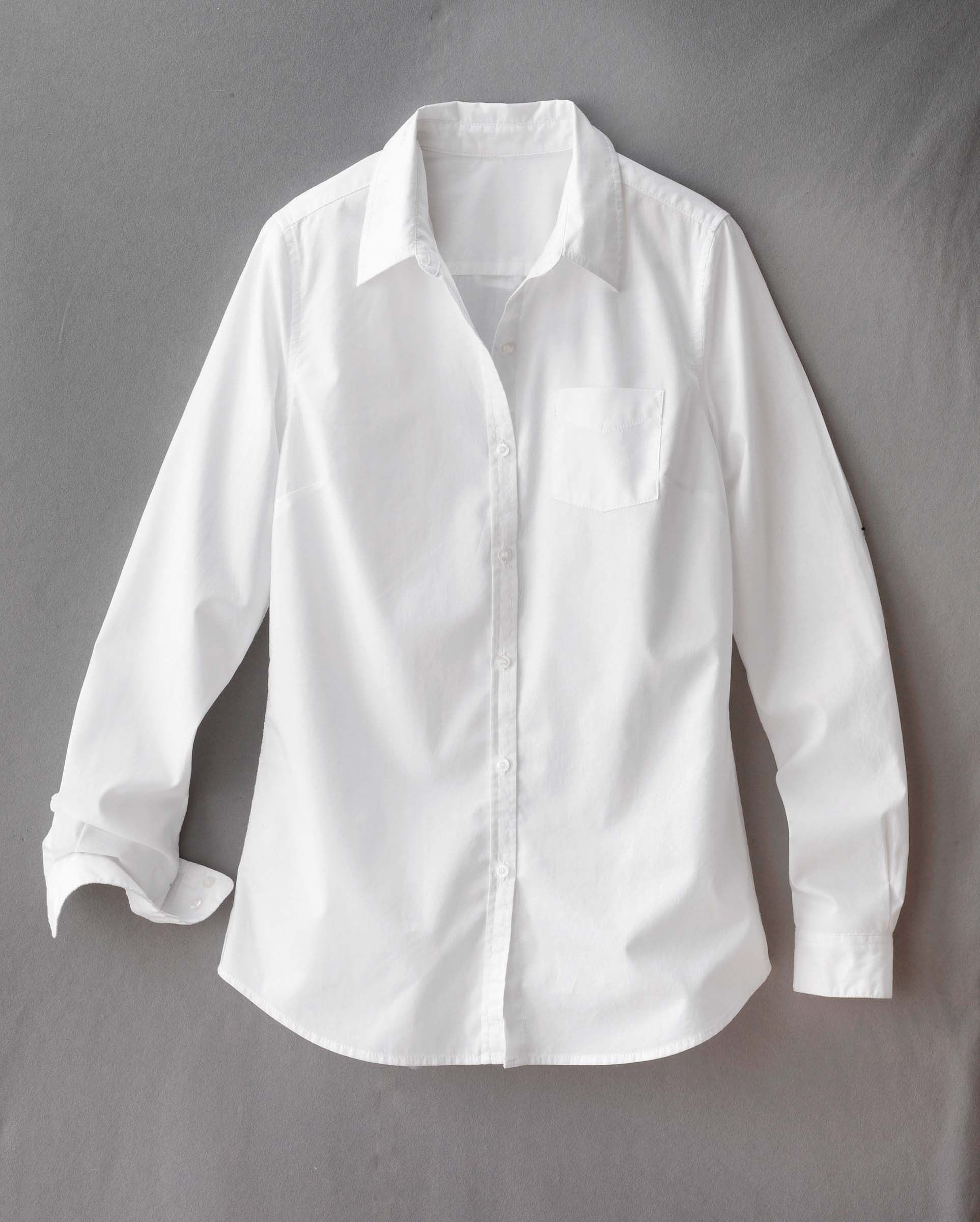 White Crisp Shirt | Is Shirt