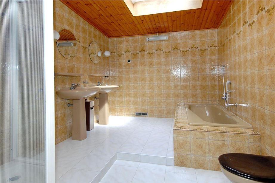 Badkamer seventies interieurs interiors bungalow