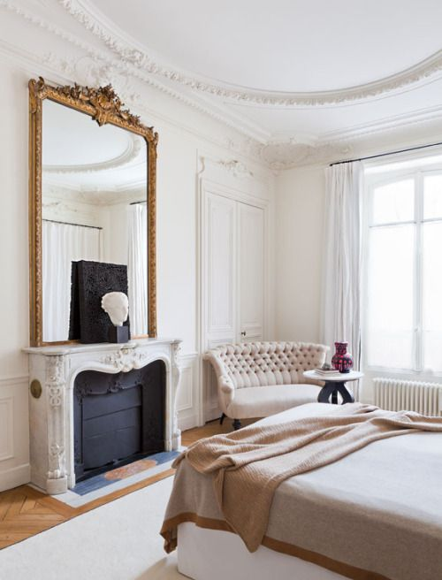 Appartement parisien And my home Pinterest Bedrooms