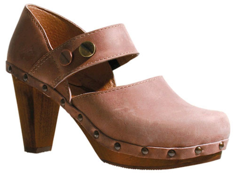 Wood Tory Mary-Janes