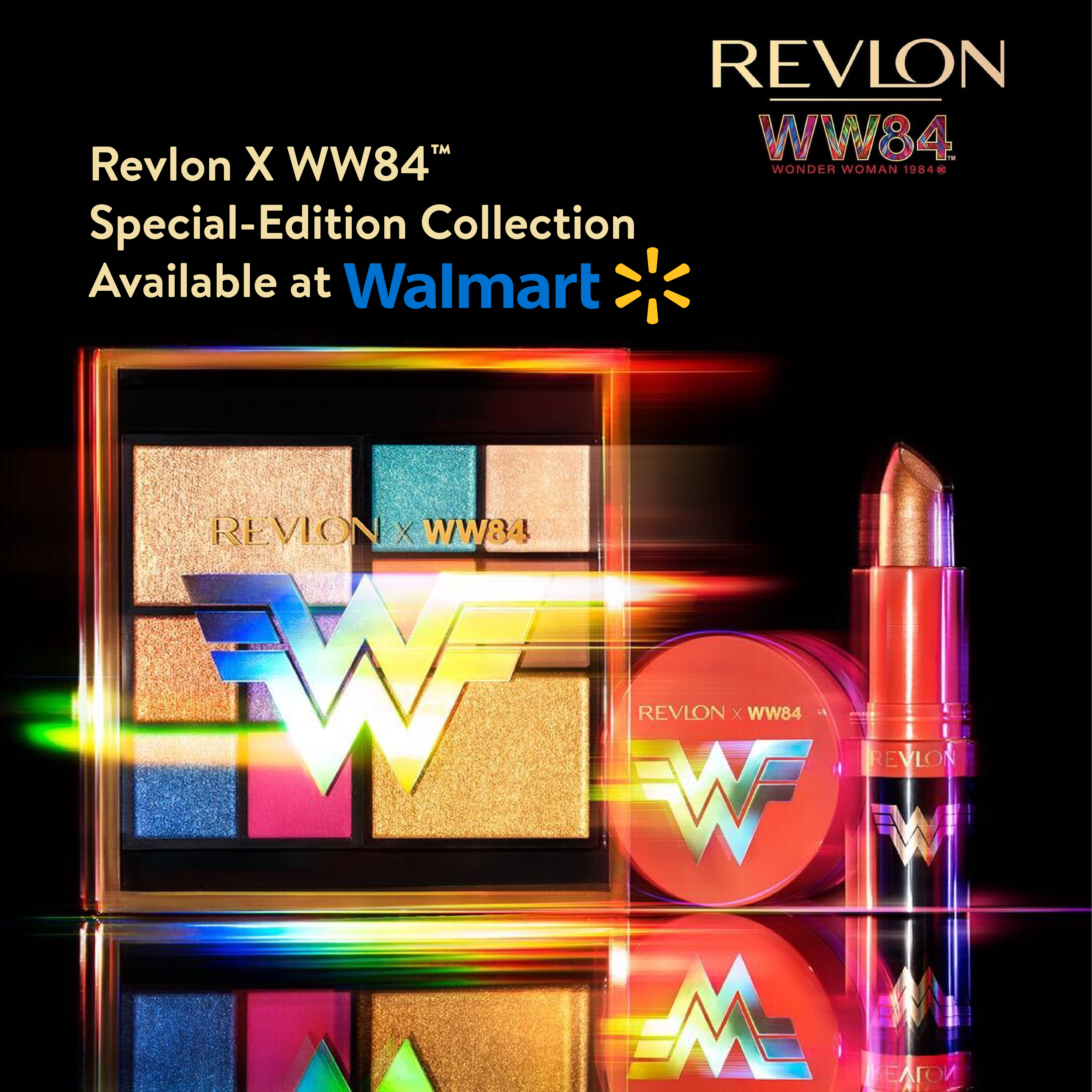 A New Era Begins Beauty From Wonder Woman 1984 And Revlon In 2020 Wonder Woman Makeup Beauty Products Drugstore Hard Candy Makeup