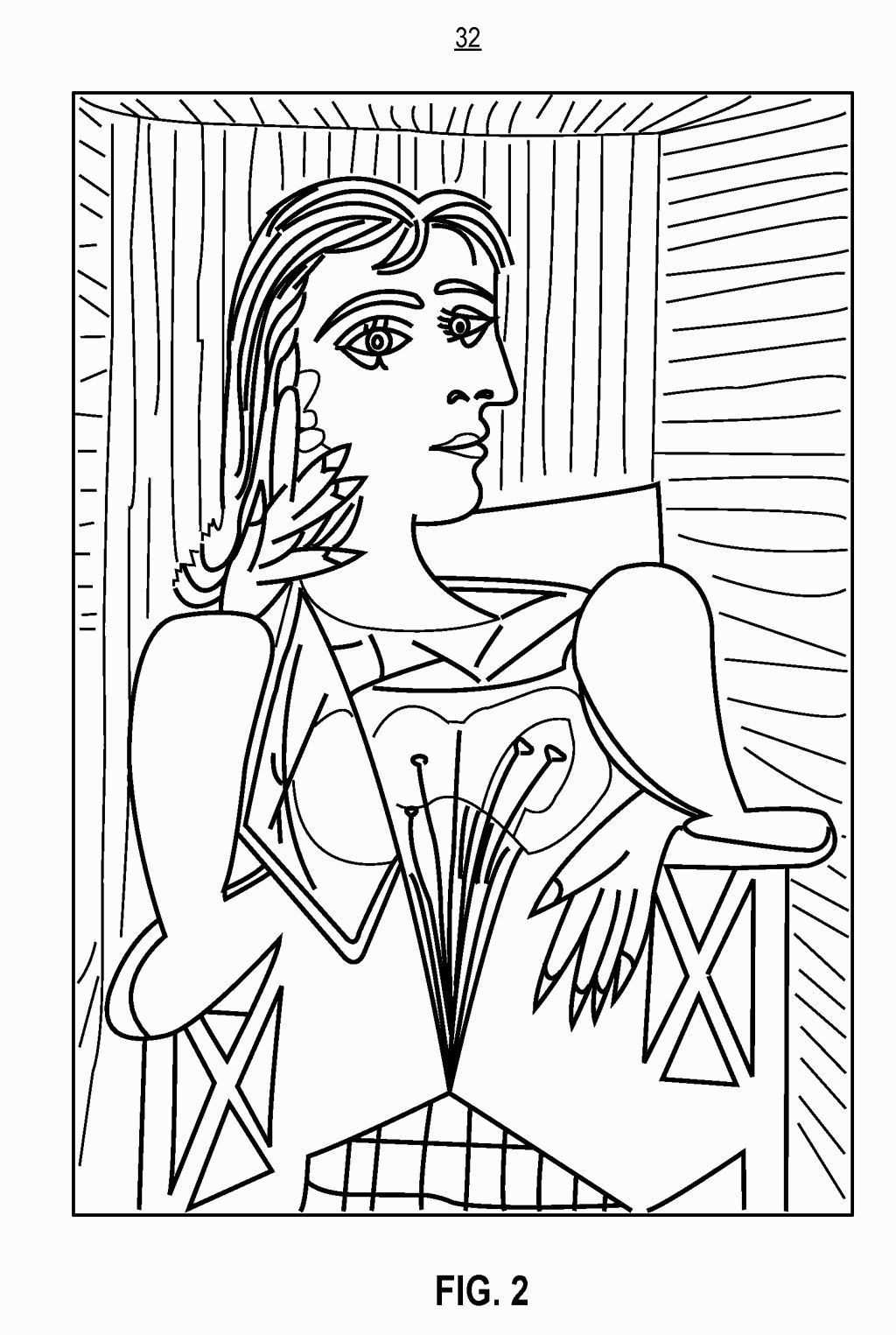 Pablo Picasso Coloring Pages Picasso Coloring Pages